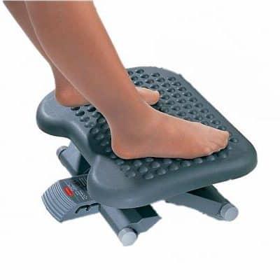Massage voetensteun in hoogte verstelbaar